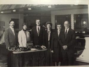 Bruce & Betty Schmidt, Gary & Geri Schmidt and Esther & Gerhardt Schmidt