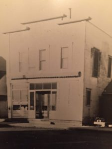 The store that Gerhardt & Esther Schmidt purchased in 1947.
