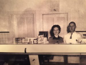 Esther & Gerhardt Schmidt in the 1950s.