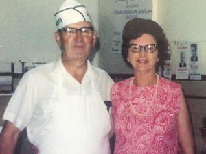 Gerhardt & Esther Schmidt in 1968