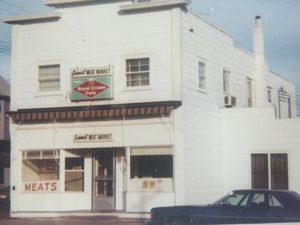 Schmidt's Meat Market in 1974